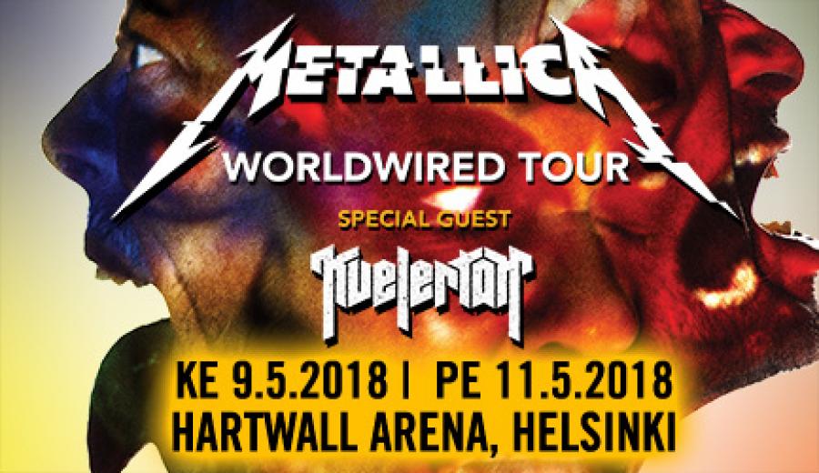 Metallica Hartwall Arenalla 1