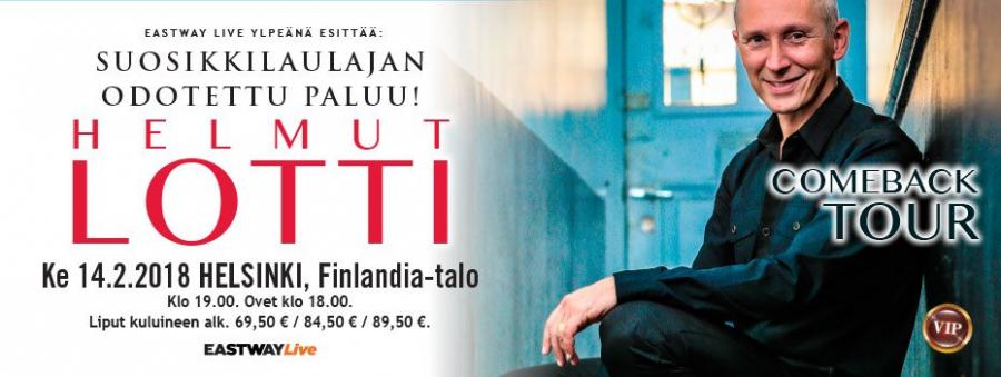 Helmut Lotti Finlandia-talossa 14.2.2018 1